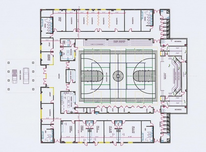 Church gymnasium designs joy studio design gallery for Gym floor plan design
